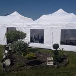 Namiot dla 50 osób – biały – 6x12m – 72m2 – opcja I