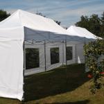 Namiot dla 20 osób – biały – 3x9m – 27m2