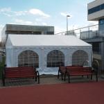 Namiot dla 30 osób – biały – 6x6m – 36m2 – opcja II