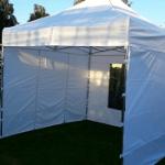 Namiot dla 8 osób – biały – 3x3m – 9m2
