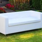 Sofa 3 osobowa biała